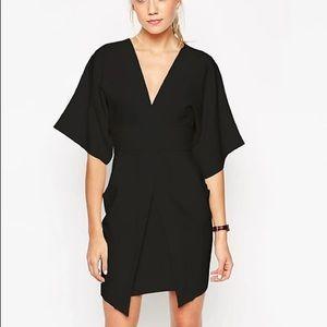 ASOS Asymmetric Pocket Kimono sleeve dress MEDIUM